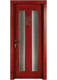 Pure Solid Wood Door S007-3