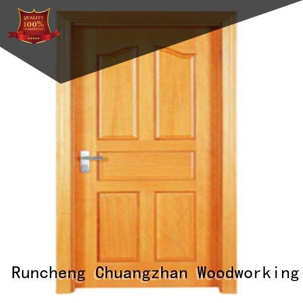 flush mdf interior wooden door pp0014 wooden flush door Runcheng Woodworking