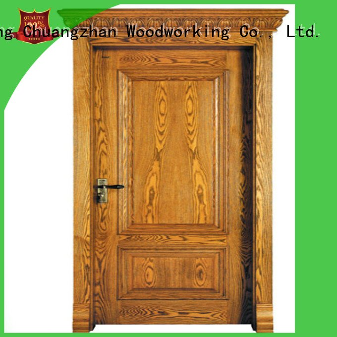 kitchen door bathroom Runcheng Woodworking oak veneer interior doors