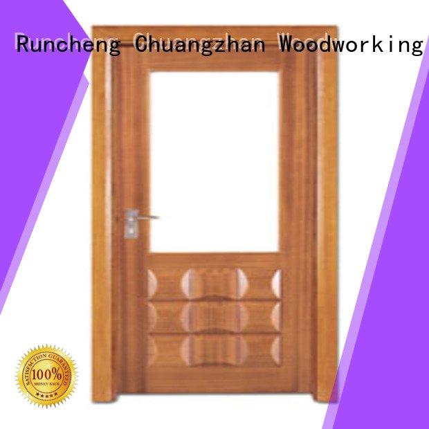 wooden glazed front doors x0183 wooden double glazed doors d0074 Runcheng Woodworking