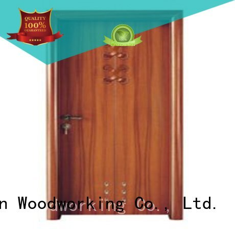 door wholesale bathroom Runcheng Woodworking Brand modern bathroom door manufacture