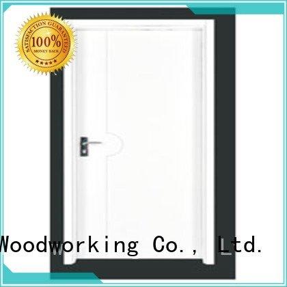 Hot flush mdf interior wooden door flush wooden flush door door Runcheng Woodworking