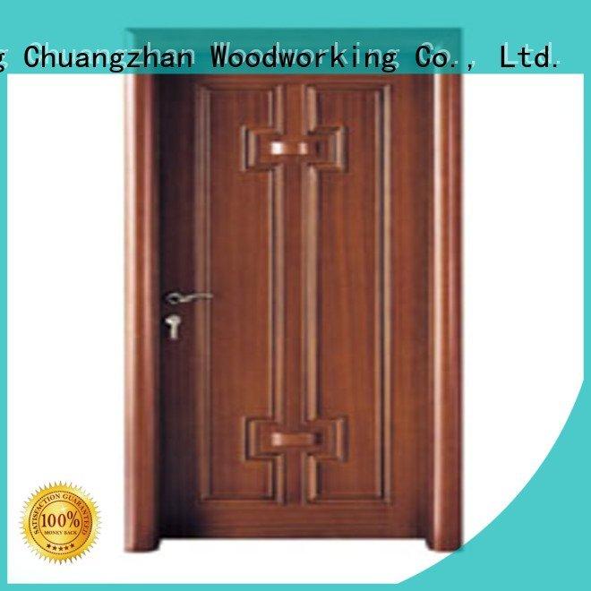 d001 new bedroom door Runcheng Woodworking bedroom design