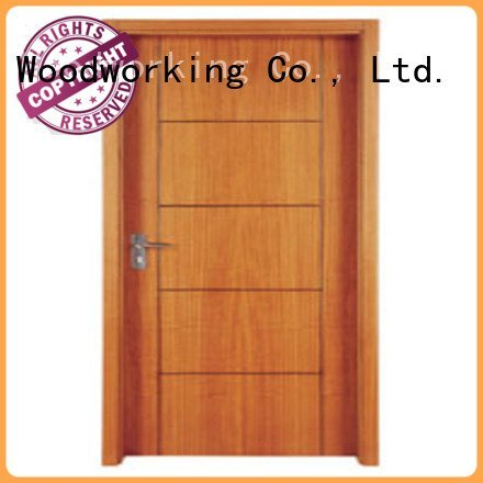 flush door door door Runcheng Woodworking wooden flush door