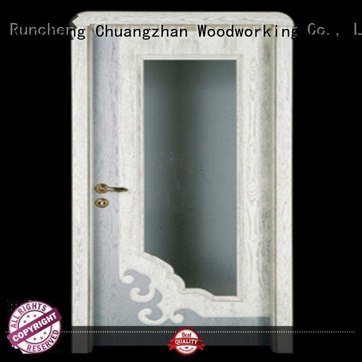 Runcheng Woodworking double kitchen wooden door