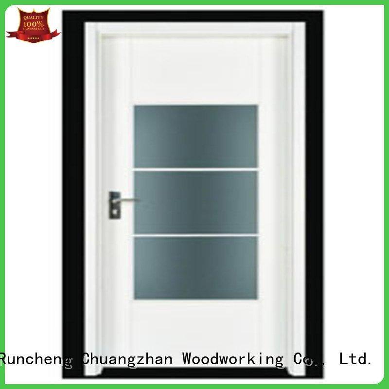 flush door door door Runcheng Woodworking flush mdf interior wooden door