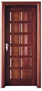 Steel Wood Door DM008