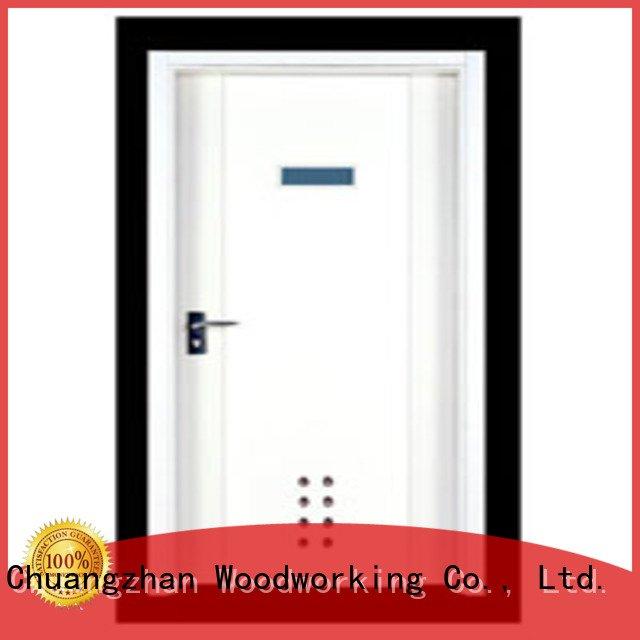 door flush Runcheng Woodworking flush mdf interior wooden door