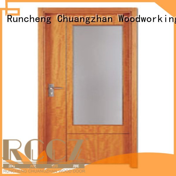 flush mdf interior wooden door door flush Runcheng Woodworking Brand