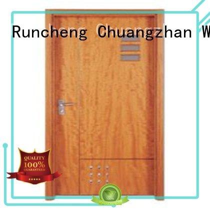 Runcheng Woodworking Brand flush door plywood flush internal doors hot selling supplier