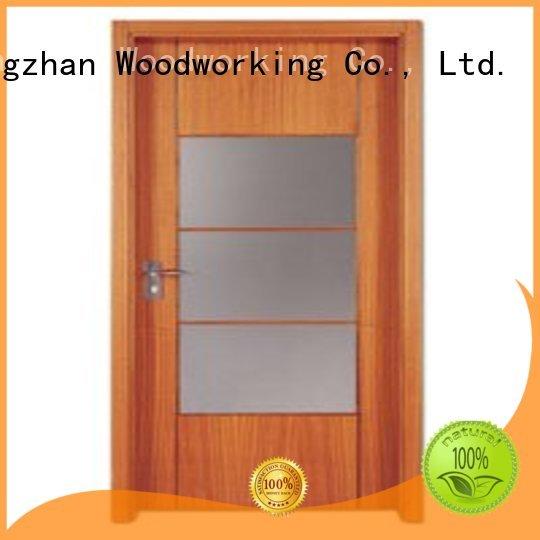 plywood flush internal doors durable wooden flush door Runcheng Woodworking Brand