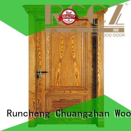 Runcheng Woodworking roman oak veneer interior doors kitchen