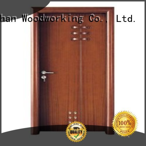 door wholesale bathroom Runcheng Woodworking Brand modern bathroom door factory