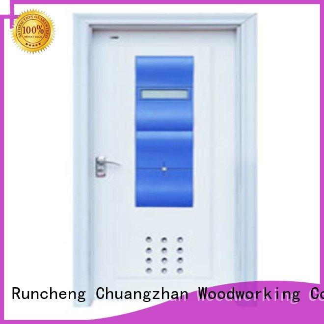 Runcheng Woodworking Brand door bathroom solid wood bathroom doors bathroom bathroom