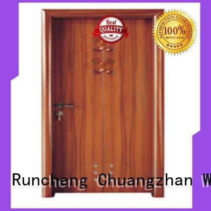 door bathroom composite interior doors Runcheng Woodworking