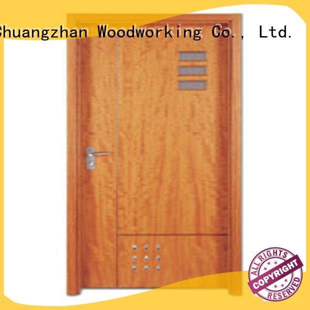 flush mdf interior wooden door pp0142 pp005t2 wooden flush door Runcheng Woodworking Brand