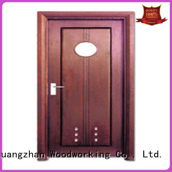 composite interior doors bathroom door OEM solid wood bathroom doors Runcheng Woodworking