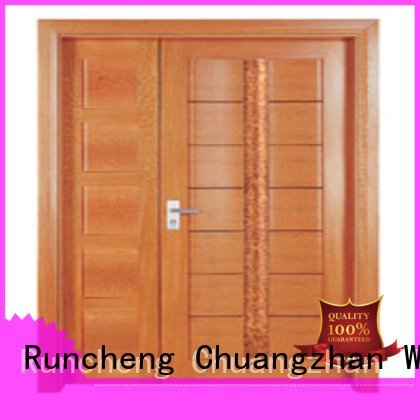 Runcheng Woodworking Brand double door door interior double doors door