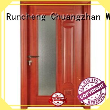 Wholesale pure wooden double glazed windows Runcheng Woodworking Brand