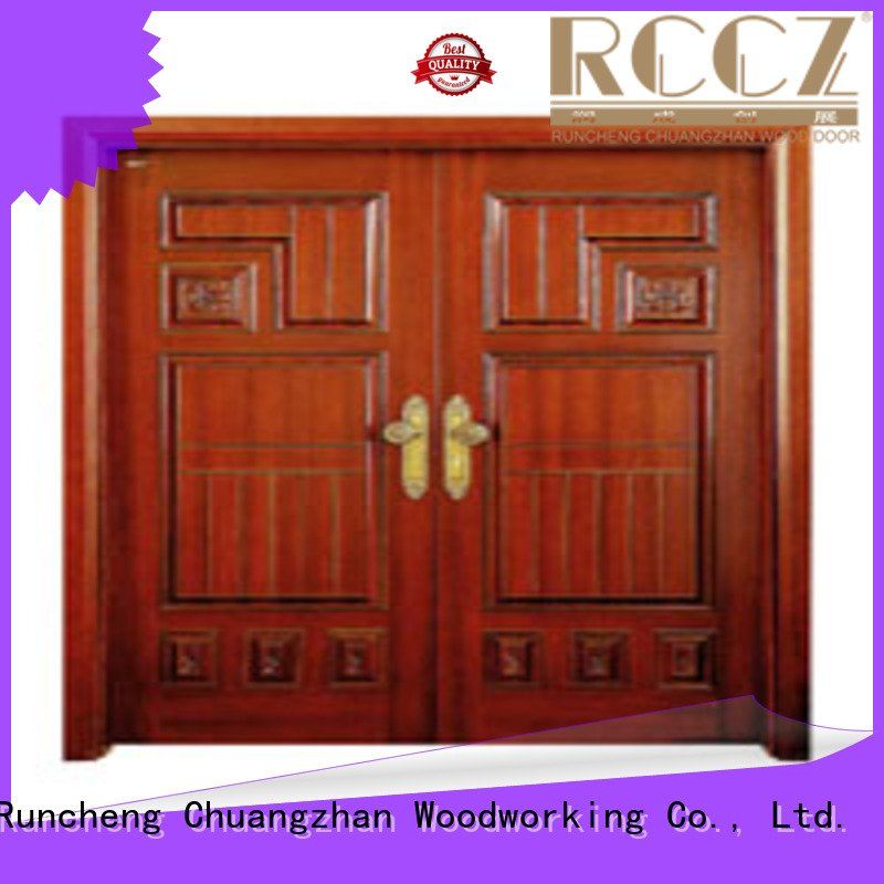 double door interior double doors door Runcheng Woodworking door double