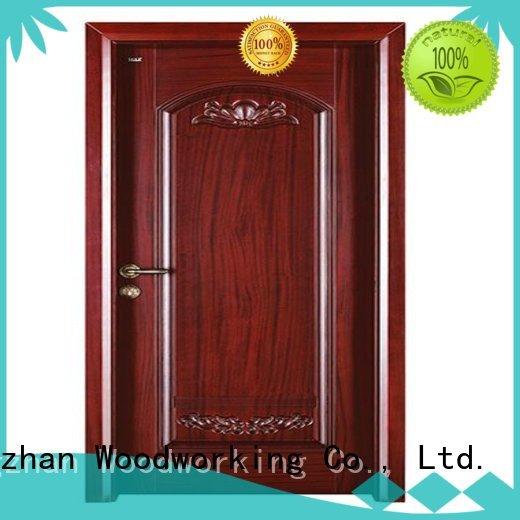 Quality Runcheng Woodworking Brand door durable interior wooden door with solid wood