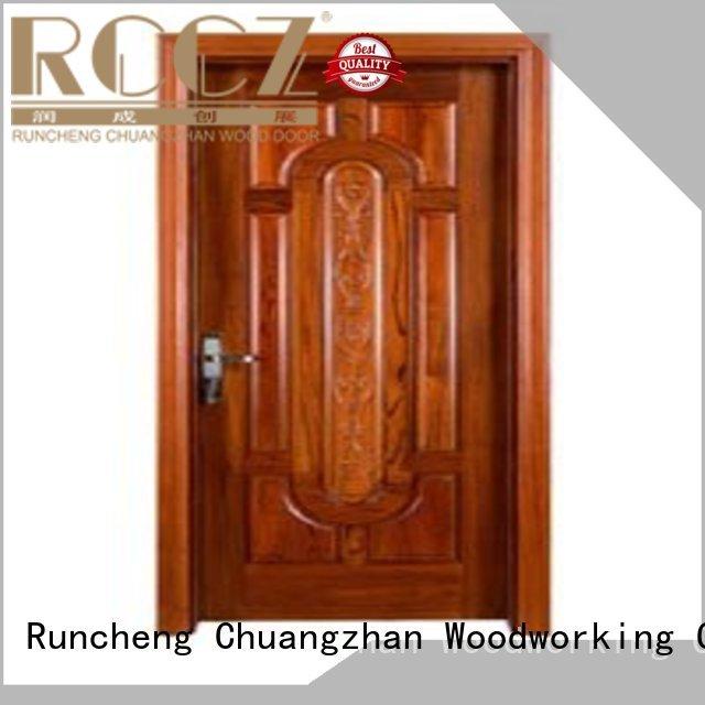 Runcheng Woodworking Brand bedroom door door new bedroom door manufacture