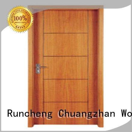 Runcheng Woodworking Brand pp004 pp0013 pp0152 flush mdf interior wooden door