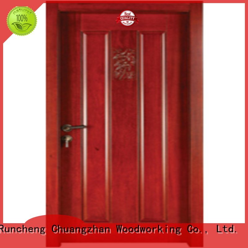 solid door OEM bedroom wooden interior door