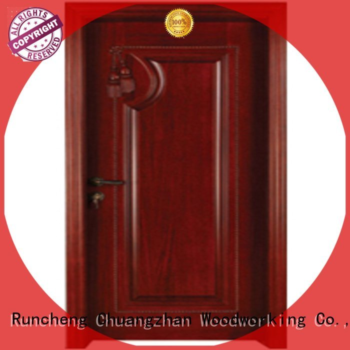 solid bedroom bedroom door designs in wood Runcheng Woodworking