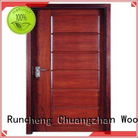 flush pp002 pp0022 p009 Runcheng Woodworking flush mdf interior wooden door