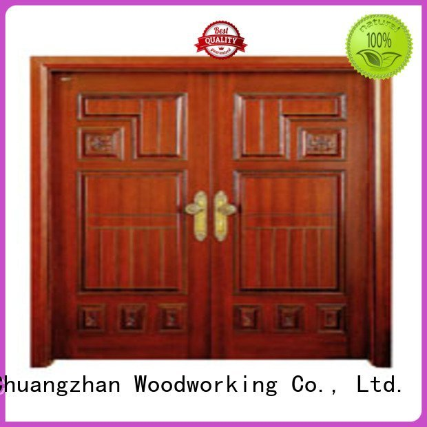 Runcheng Woodworking Brand door double interior double doors