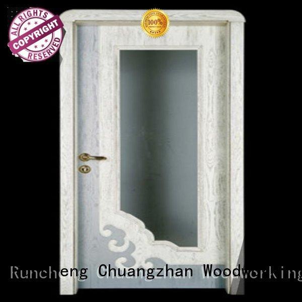 bedroom door Runcheng Woodworking Brand internal double doors factory