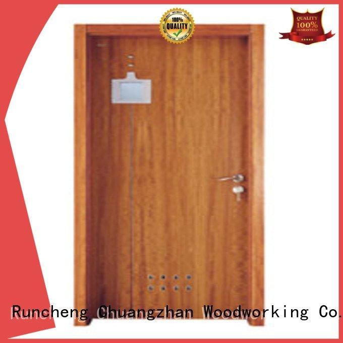 door bathroom bathroom solid wood bathroom doors Runcheng Woodworking