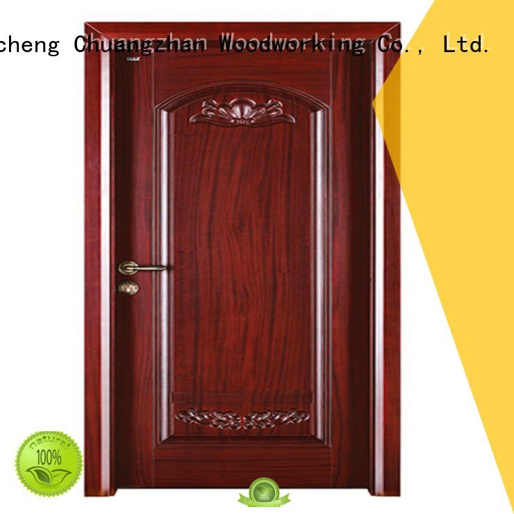 wooden door OEM interior wooden door with solid wood