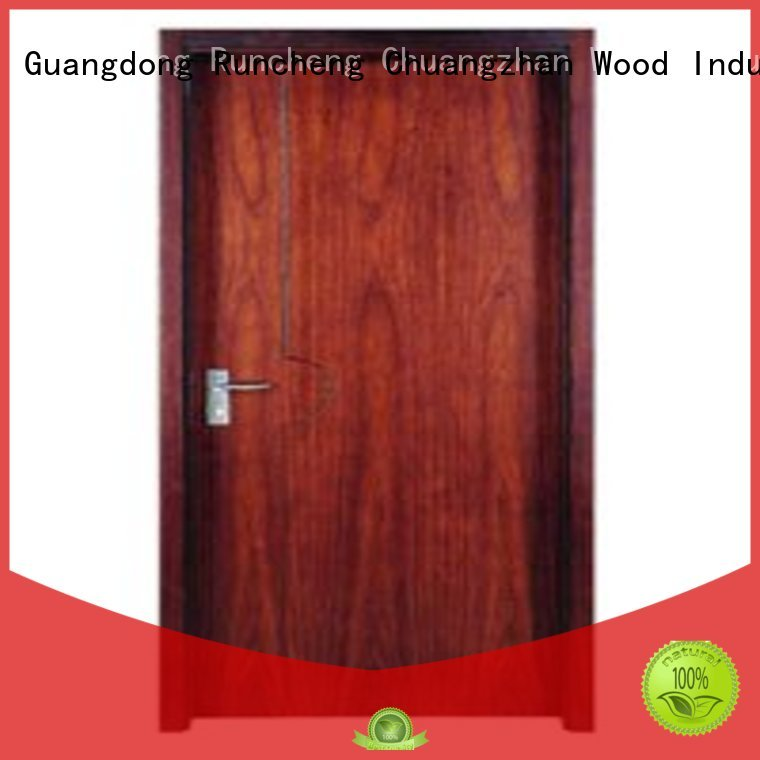 durable flush Runcheng Chuangzhan Brand plywood flush internal doors
