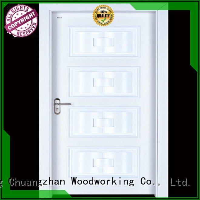 wooden Runcheng Woodworking interior wooden door with solid wood