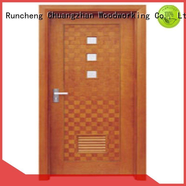 Wholesale pp015 pp003t wooden flush door Runcheng Woodworking Brand