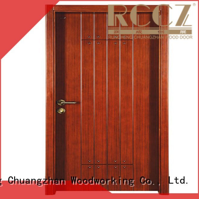 Custom s017 interior wooden door with solid wood wooden cheap wooden front doors