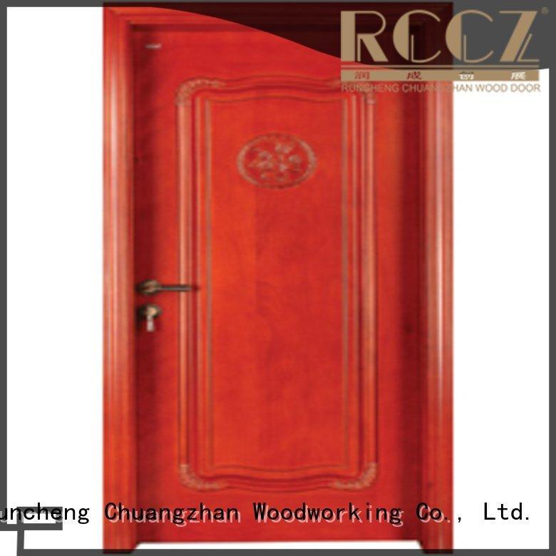 OEM bedroom wooden interior door s008 wood bedroom door designs in wood