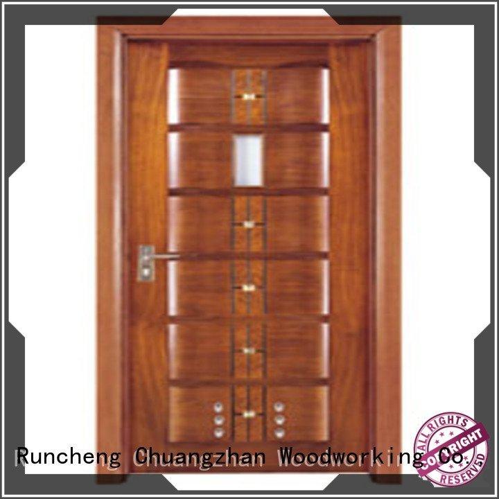 OEM solid wood bathroom doors x0102 door composite interior doors