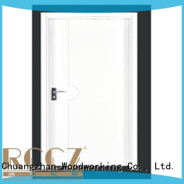 Hot flush mdf interior wooden door pp0072 pp0012 pp007t Runcheng Woodworking Brand