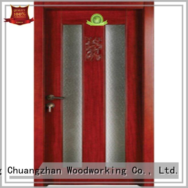 wood wooden glazed doorsRuncheng Woodworking Brand