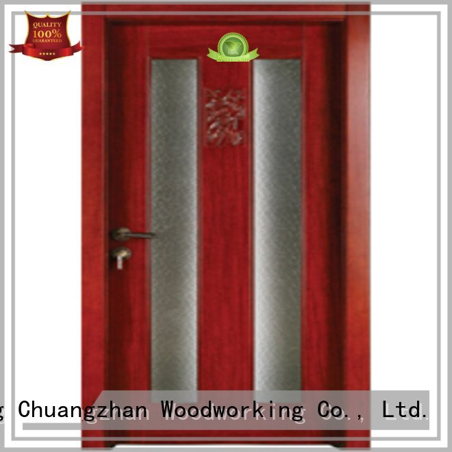 wood wooden glazed doorsRuncheng Woodworking Brand