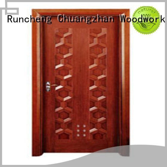 Hot composite interior doors x0282 solid wood bathroom doors l0082 Runcheng Woodworking