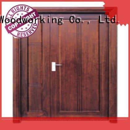 Runcheng Woodworking Brand x0101 white double doors x0081 door