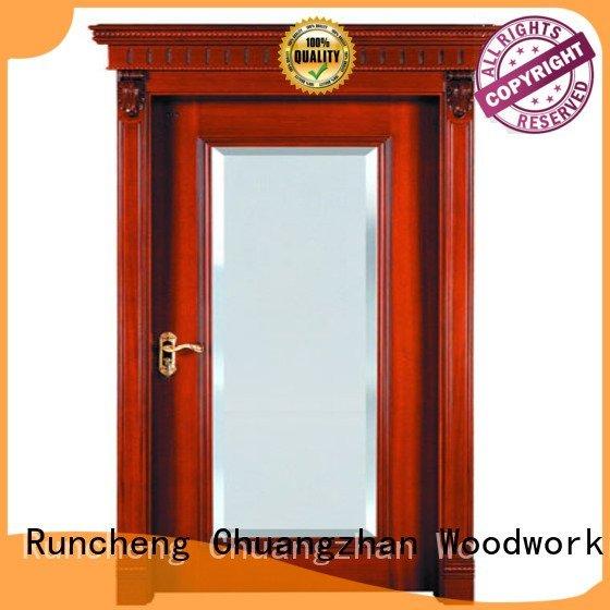 internal veneer doors victorian Runcheng Woodworking Brand