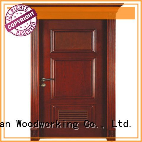 british door kitchen classic Runcheng Woodworking solid wood bedroom composite door