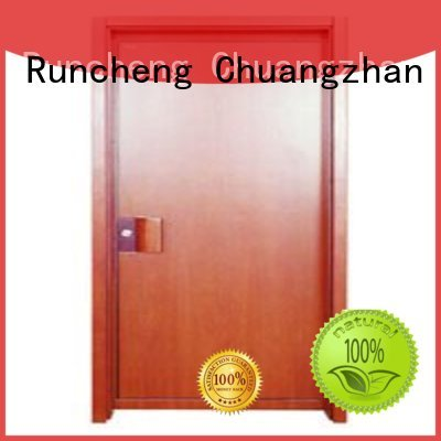 Runcheng Woodworking Brand flush door wooden flush door manufacture