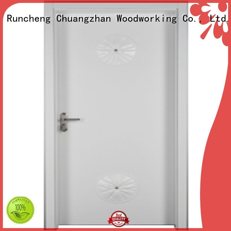 bedroom door designs in wood door Runcheng Woodworking Brand