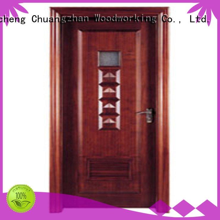composite interior doors x0282 x0142 solid wood bathroom doors Runcheng Woodworking Warranty